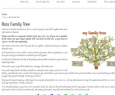 Ross Family Tree